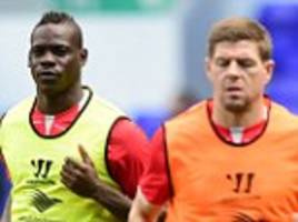 Mario Balotelli is already at the back of the Liverpool bus pulling all the strings, reveals Steven Gerrard